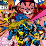 The early '90s distilled into a single cover image. ((X-Men vol. 2 #14)