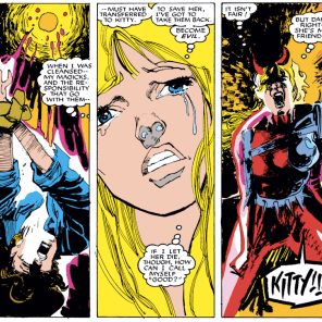 Aw, Illyana. (New Mutants #36)
