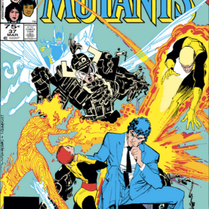 This cover = Rachel's definitive Beyonder. (New Mutants #37)