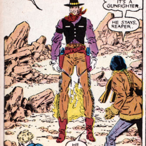 On the list of iconic showdowns of New Mutants, this one will always be near the top. (New Mutants #41)