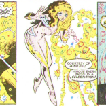No, not THAT Jubilee. The other Jubilee. (New Mutants Annual #2)