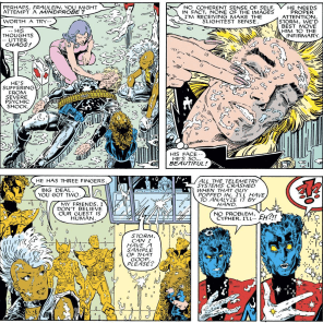 Welcome to the X-Men, Longshot! Hope you survive the experience! (X-Men Annual #10)
