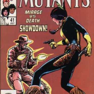 So much love for this cover. (New Mutants #41)