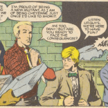Changing in a parking lot on the way to a school dance is about as New Mutants as it gets. (New Mutants #45)