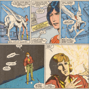 Our first introduction to Larry Bodine. (New Mutants #45)