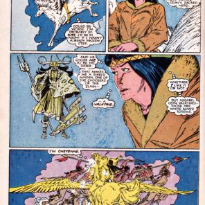 Danielle Moonstar on cultural identity. (New Mutants #41)