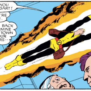 Everything's sadder when teenagers are reacting to it. (New Mutants #46)