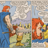 For the record: We ran this page by Jamie from the British History Podcast, and he says Robert the Bruce's outfit is super bullshit (but he said it more eloquently). (New Mutants #47)