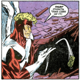 """Sorry I burned down your village. Here's some gold."" (X-Factor #6)"