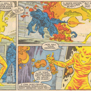 She even LOOKS like she stepped off a power metal album cover. (New Mutants #52)