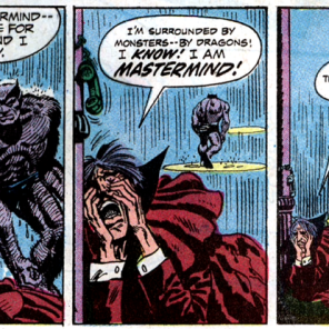 When Mastermind loses, he loses hard. (Amazing Adventure #13)