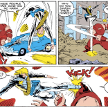 Aw, Longshot. (Uncanny X-Men #218)