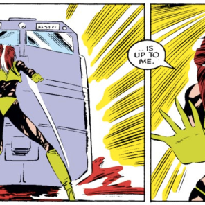 I know this story is all about teamwork, but Rogue definitely wins MVP of Uncanny X-Men #218.