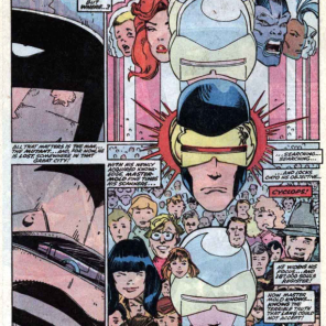 Those Walter Simonson layouts, tho. Dang. (X-Factor #14)