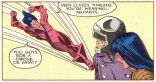 I genuinely can't tell if this is a good burn or not: on one hand, the New Mutants' costumes are objectively way worse; but on the other hand, the Hellions' costumes are way more circus-y. (New Mutants #54)