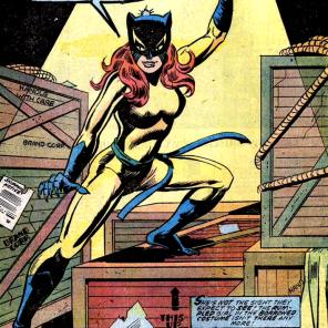 Patsy Walker finally lives her dream. (Avengers #144)