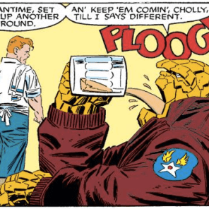 THAT SOUND EFFECT THO (Fantastic Four Versus the X-men #3)