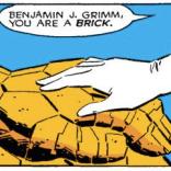 AWWWW. (Fantastic Four Versus the X-men #4)