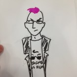 Quentin Quire got kind of meta. NO REGRETS.