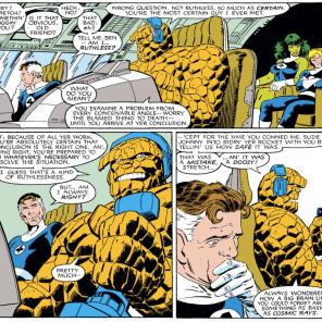 Well, that's not even a little bit portentous. (Fantastic Four Versus the X-men #1)