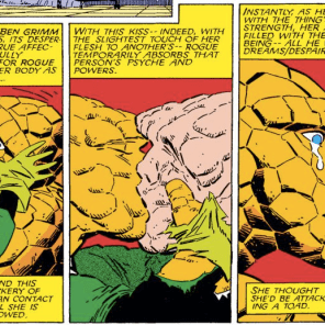 Aw. (Fantastic Four Versus the X-men #2)