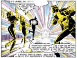 More sound and speech balloons. (Uncanny X-Men #222)