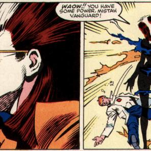 It's not a miniseries until Rogue's clothes explode. (X-Men vs. Avengers #3)