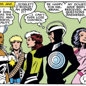 This is actually a pretty good single-panel primer for this X-team. (Uncanny X-Men Annual #11)