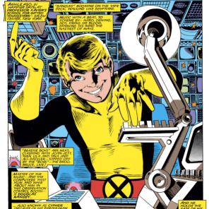 Doug. Doug, no. (New Mutants Annual #3)