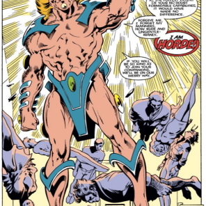 That's... that's quite a look, Horde. (Uncanny X-Men Annual #11)