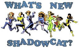 "WHAT'S NEW, SHADOWCAT? - We're guessing the answer is ""a costume."" Designed by David Wynne"