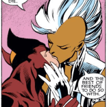 Dear Everyone Who Thought Wolverine and Storm Hooked Up Out of Nowhere Last Year, NOPE. Love, R&M (Uncanny X-Men Annual #11)