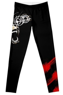 DEMON BEAR LEGGINGS - Because you demanded it! Design by David Wynne