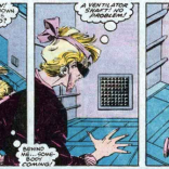 Look, she's seen Die Hard, okay? (X-Factor #22)