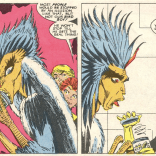 SIGH. Remember last issue, when June Brigman drew this dude and it was awesome? (New Mutants #57)