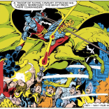 """""""Oh, y'know, just stole a dragon from some flying commandos. No big deal."""" (X-Men Annual #3)"""
