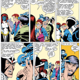Those halcyon days when Havok's impromptu diatribes didn't suck. (Uncanny X-Men #226)