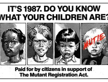Fall of the Mutants promotional ad.