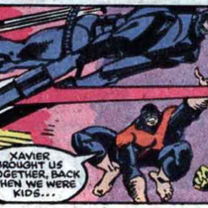 """I mean, if those ridiculous spring arms aren't evil, I don't know what is."" (X-Factor #24)"