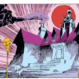 How awesome would it be if the Xavier Institute always looked like this? SO AWESOME. (Uncanny X-Men #231)