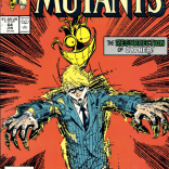 The vaguely slapstick motifs in this story somehow make it even sadder. (New Mutants #64)
