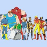 Pryde of the X-Men's character designs are pretty damned comics-accurate, if slightly pastel. (I guess Kitty would have gotten her Shadowcat costume later?)