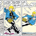 POIT: Definitely the cutest sound effect. (Uncanny X-Men Annual #12)