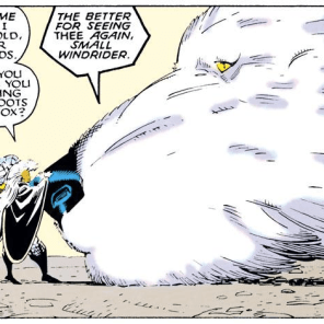 SURE, WHY NOT? (Uncanny X-Men Annual #12)