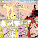 """She's her old self again, but about six inches shorter."" (Uncanny X-Men #233)"