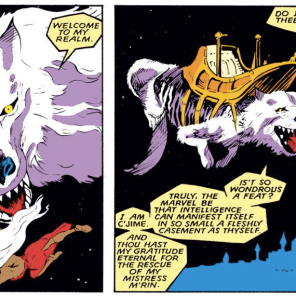 Remember the time Storm had adventures on pirate space city on the back of a flying wolf? Because that was definitely a thing that actually happened. (Classic X-Men #22)
