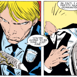 That is definitely not how you perform CPR. (Uncanny X-Men #232)