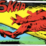The first death of Captain Britain.