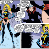 We'd all like to think we've got a little Carol Danvers in us, but it's rarely quite this literal. (Uncanny X-Men #236)
