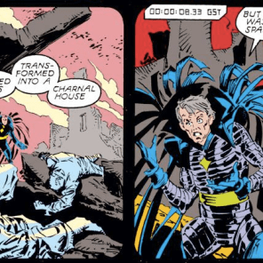 He's a homophone! Get it? 'Cause Sinister is a Jeangineer! (Uncanny X-Men #238)